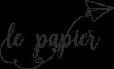 Le Papier – graphic design
