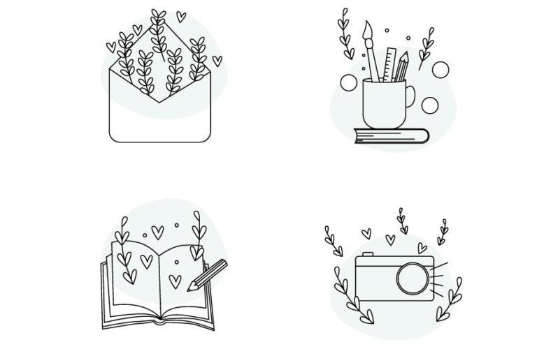 Grafiche e illustrazioni Le Papier - graphic design