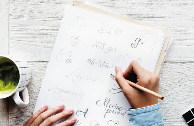 Brand identity Le Papier - graphic design
