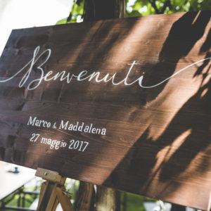 Coordinati grafici per matrimonio Le Papier - graphic design