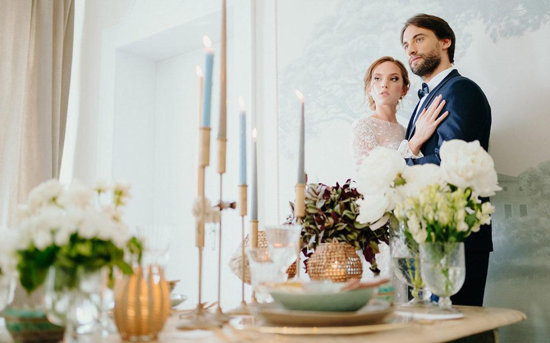 Un matrimonio romantico al castello di Buttrio